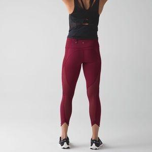 Lululemon run with the sun leggings size 6